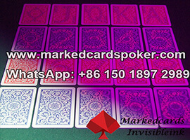 Magic Copag marked luminous cards