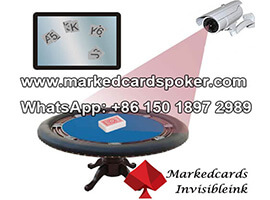 Infrared ink poker lens