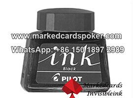 Tarjetas que marcan tinta a mazos de póker