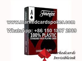 Fournier tarjetas de codigo de barras de tinta invisible que marcan el poker