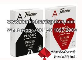 Fournier 2800 codigo de barras marcada tarjetas invisibles para dispositivos analizadores de poquer