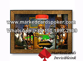 Playing Cards Tricks Within 3D Wall Painting Infrared Camera