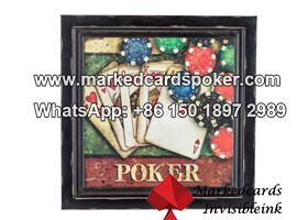 Long Distance 3D Wall Painting Zoom IR Poker Cheat Camera
