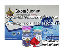 Marked Poker Cards Contact Lenses