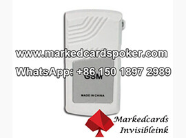 Reporting Poker Results By Marked Cards Interphone