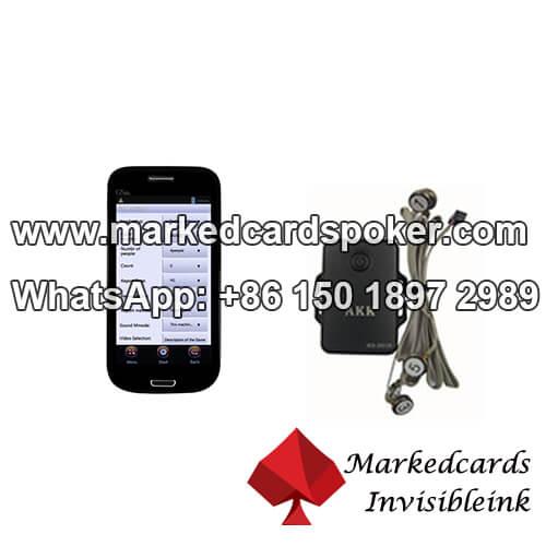 AKK vibrador com AKK Series sistema de analisador de poker