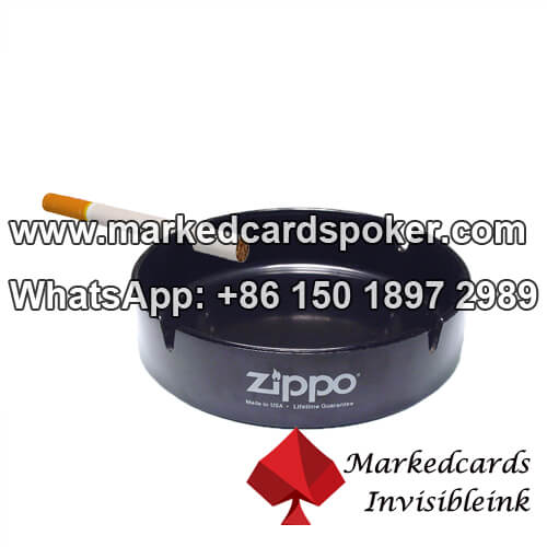 Ashtray barcode card scanner