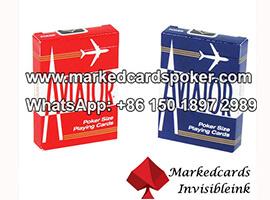 Indice Aviator jumbo marcado cartas de jogar