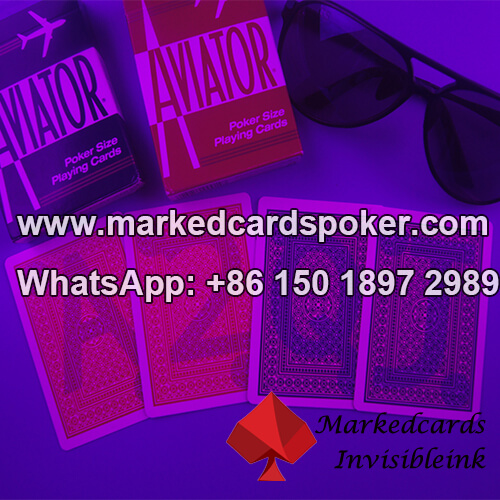 Aviator Jumbo Index cartas de juego marcadas