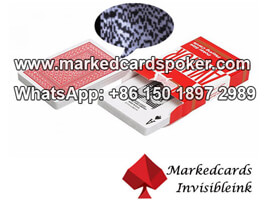 Good Quality Red Aviator Bar Code Marked Cards
