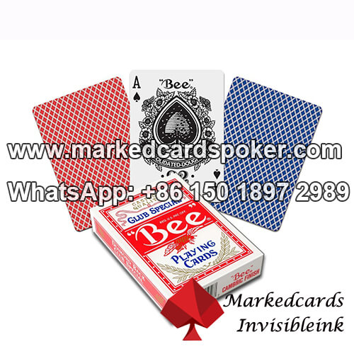 Bee No.92 Jumbo Index Plastic Playing Cards