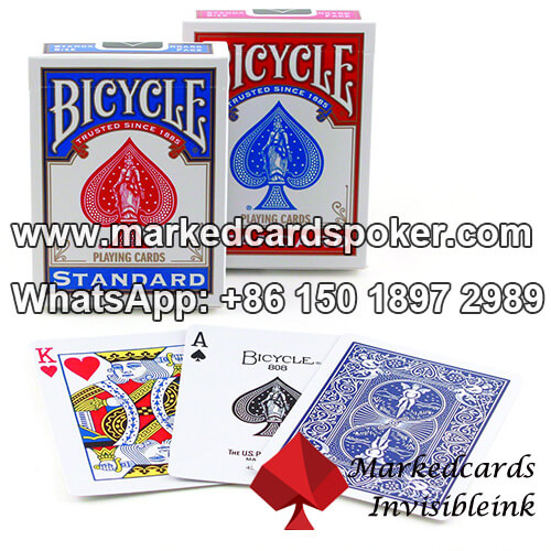 Bicycle Bridge Size Standard Face Professional Blue Cards