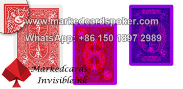 Bicycle marked deck of cards