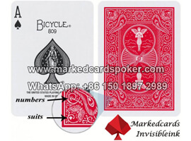 bicycle pure marked card deck