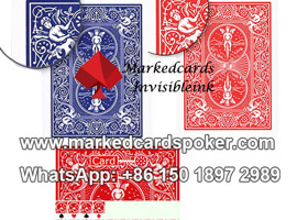 bicycle rider back marked playing cards