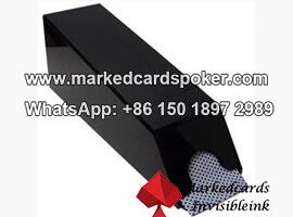 Camara de escaneo de poker de zapatos de blackjack para tarjetas norm