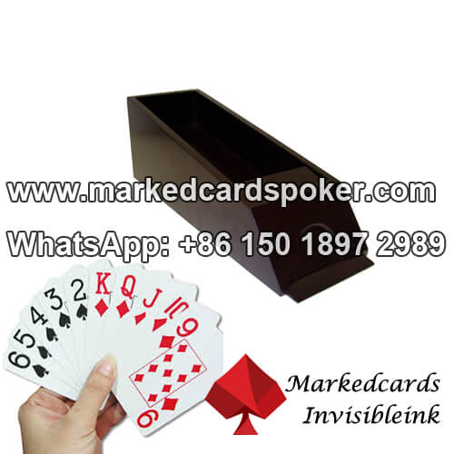 Sapatos blackjack marca lado leitor de codigo de barras