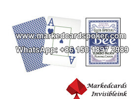 Special Blue Bee No.77 Marked Cards