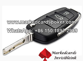 Codigo de barras marcada tarjetas lente clave de coche