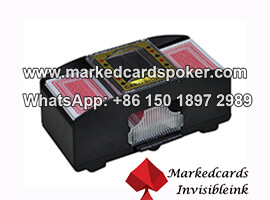 Barcode Marked Cards Shuffler Scanning Camera