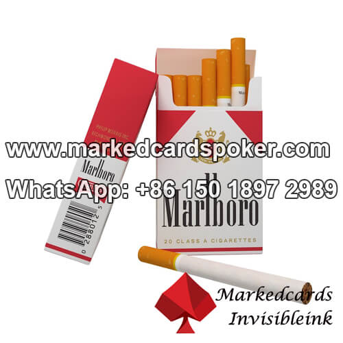 Cigarette Box Marked Cards Reader