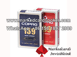 Undetectable Copag 139 Marking Cards With Invisible Ink