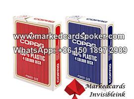 100% plastico Copag 4 tarjetas de esquina