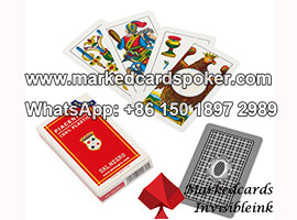 Dal Negro Piacentine Cheating Playing Cards