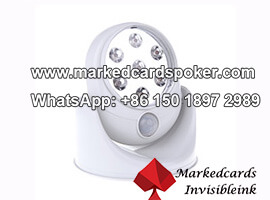 Luz do dia lampada LED camera de poker IR