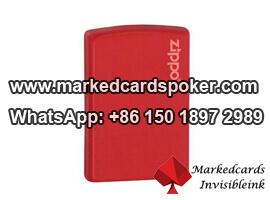 Nuevo diseno encendedor KTZ escaner de tarjetas de juego marcada