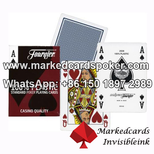 Fournier 2500 Plastic Playing Cards
