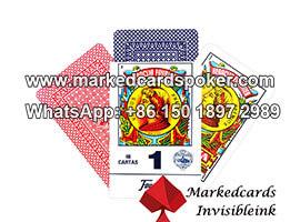 Fournier Heraclio No.1 cartas jogadas marcadas