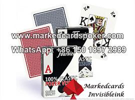 Fournier Poker Vision cartas de juego marcadas