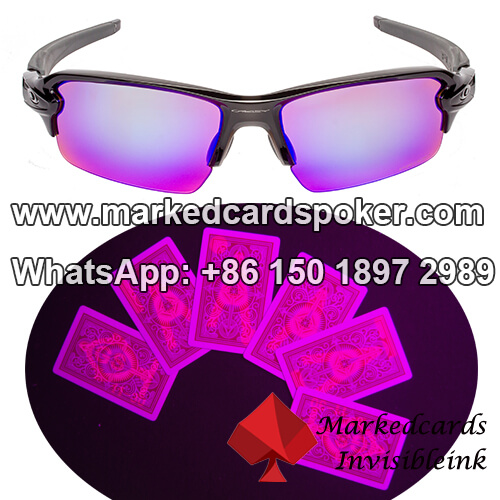 Gambling Glasses for Invisible Ink Marked Cards