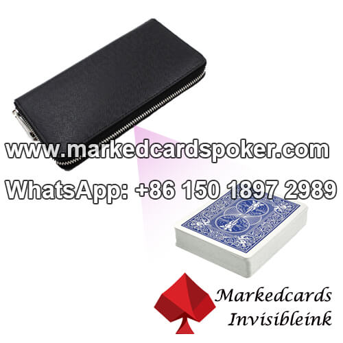 Marked Barcode Wallet Cards Scanner
