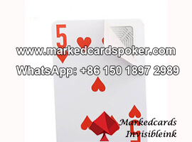 Invisible Inductive Ink Inductive Marked Poker Cards