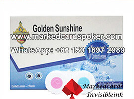 Infrared contact lenses poker
