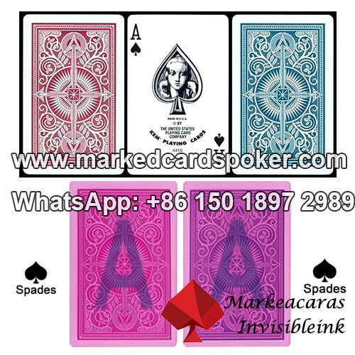 KEM Marked Playing Cards With Infrared Poker Glasses