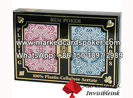 KEM Arrow Wide Size Marked Playing Cards
