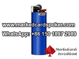 Camara de poquer HD en alumbrador para analizador de tarjetas de marcado