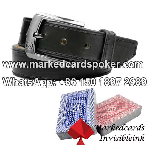 Covered Leather Belt Poker Scanner