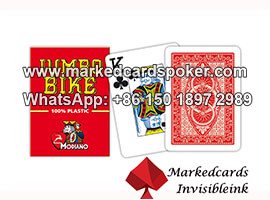 Luminous Ink Contact Lenses Marked Poker Cards