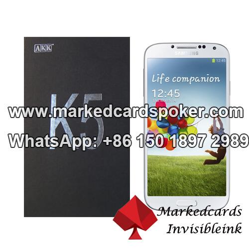 Melhor baralhos marcados AKK K5 analisador de poker