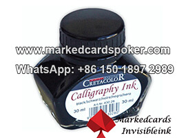 Luminous Invisible Infrared Ink For Playing Cards