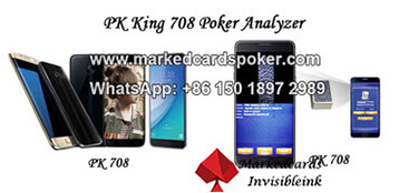 PK King serie analizador de poker