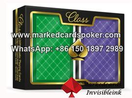 Tarjetas que marquen tinta para Copag Class Standard poquer