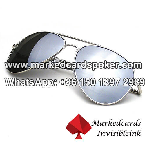 Silver Invisible Ink Glasses Poker On Sale