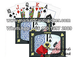 Copag 1546 Poker Size Regular Index Markierte Spielkarten