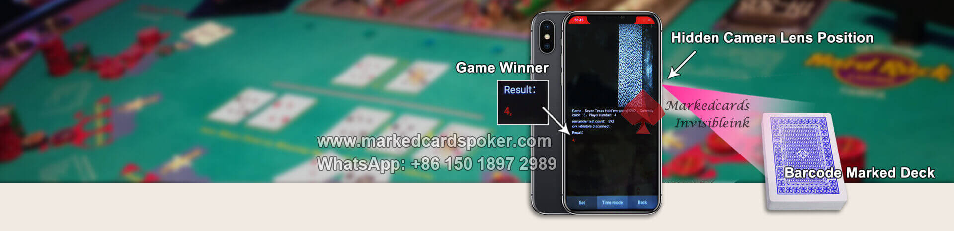 marked playing cards analyzer