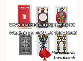 Masenghini Dal Negro Piacentine Marked Playing Cards